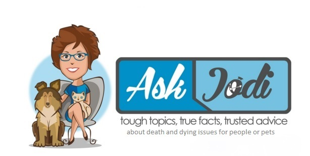 ask jodi logo with the about